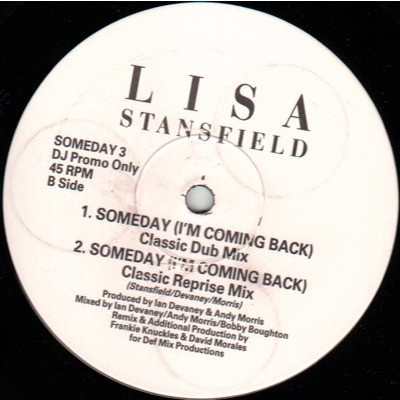 lisa stansfield Someday (I'm Coming Back)