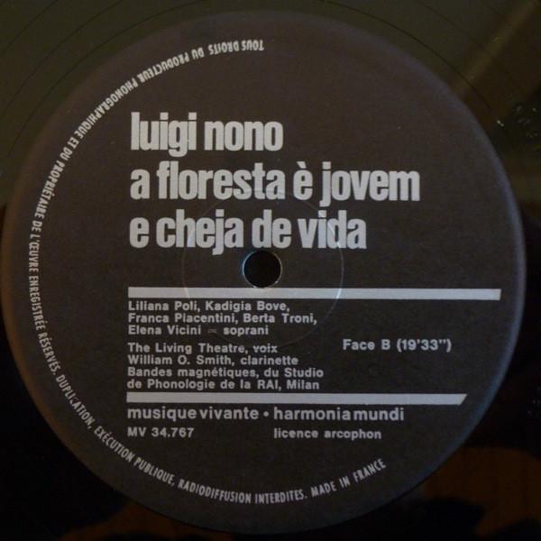 Luigi Nono - A Floresta É Jovem E Cheja De Vida