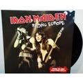 IRON MAIDEN - Raiding Europe (lp) Ltd Edit Etched Vinyl -Italy - 33T