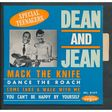dean and jean mack the knife - dance the roach - come take a walk with me - you can't be happy by yourself