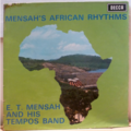 E. T MENSAH & HIS TEMPOS BAND - Mensah's African rhythms. - LP