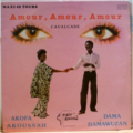 AKOFA AKOUSSAH & DAMA DAMAWUZAN - Amour amour amour / Cavalcade / Love love love / I need a horse - 12 inch 45 rpm
