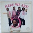 JIVE FIVE - HERE WE ARE - 33T
