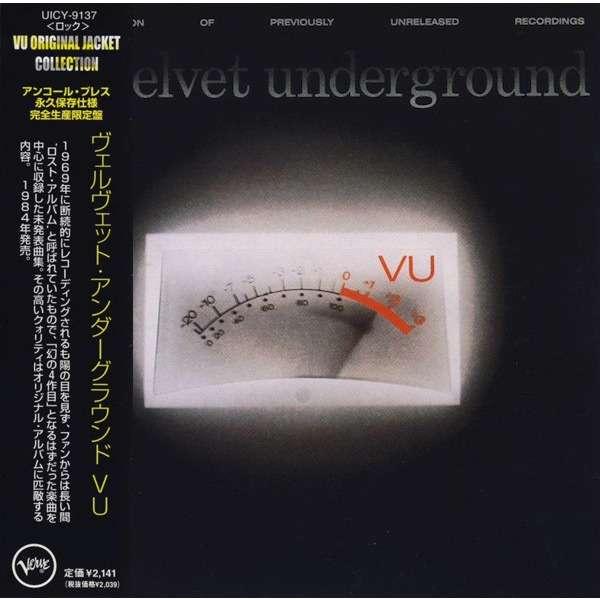 Velvet Underground VU (japanese papersleeve)