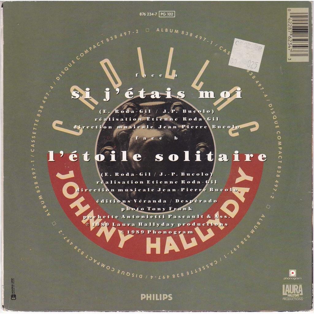 johnny hallyday si j'étais moi/ l'étoile solitaire