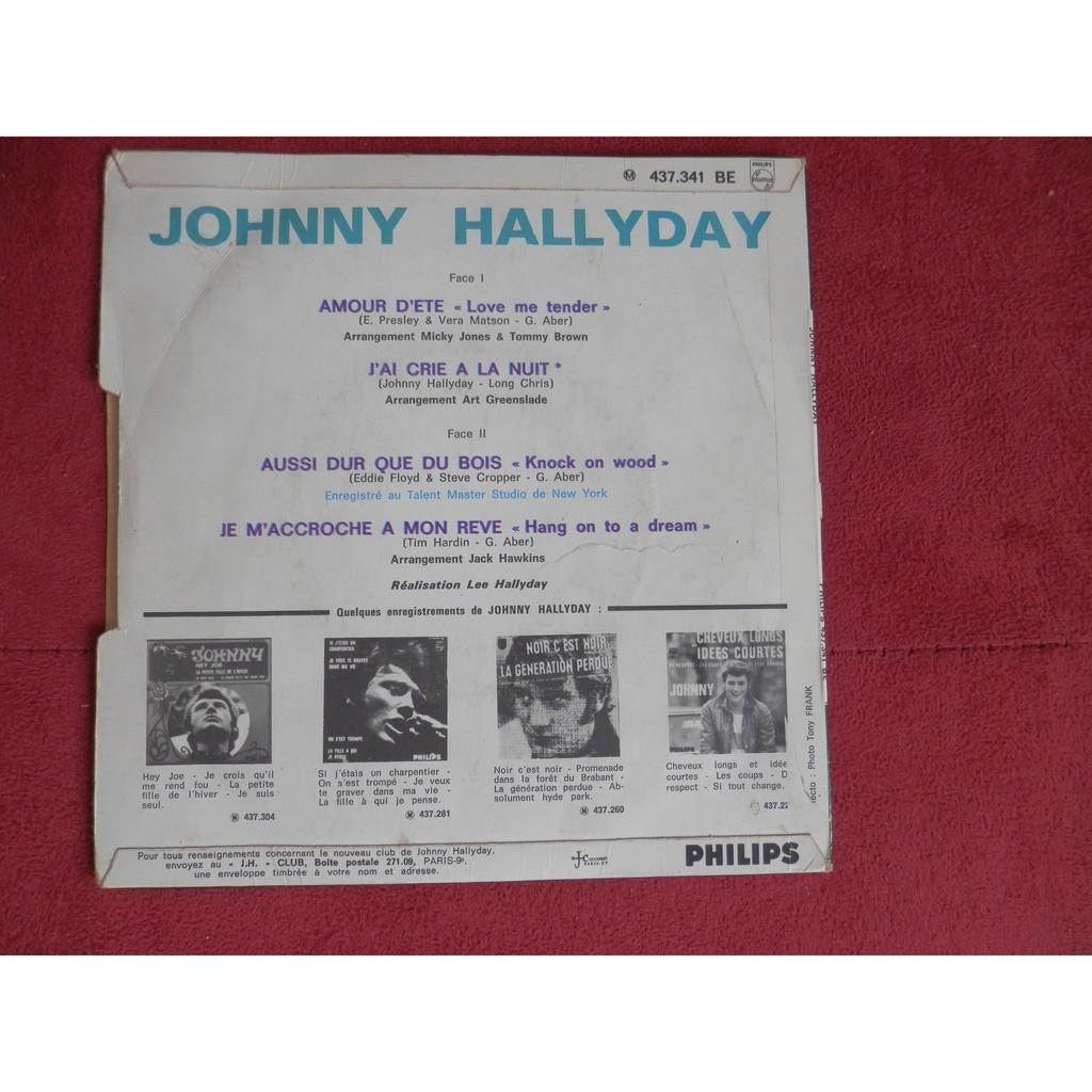 johnny hallyday amour d'été