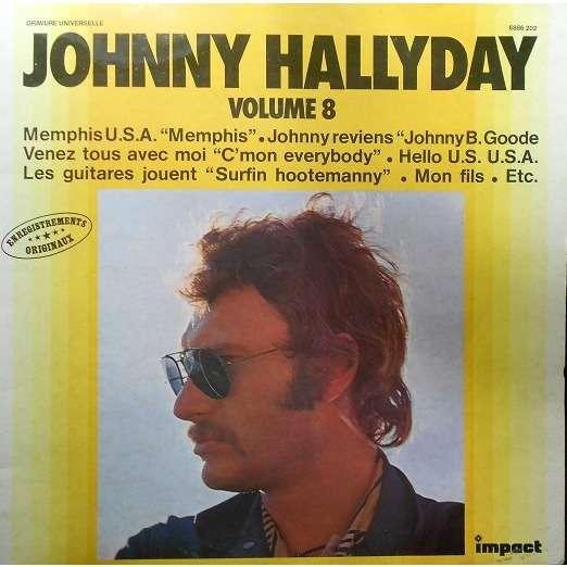 HALLYDAY Johnny Johnny Hallyday - Vol.8/76 - 1ère pochette