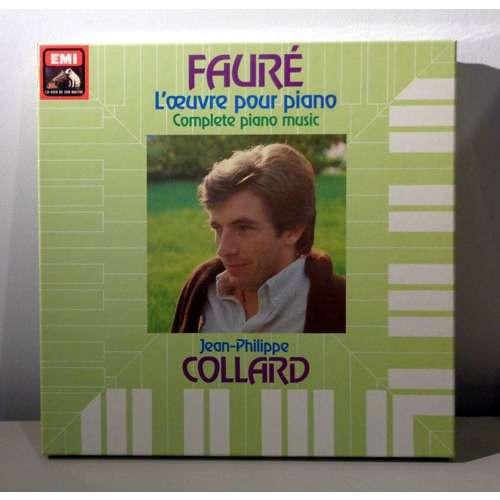 JEAN PHILLIPE COLLARD GABRIEL FAURE L'oeuvre pour piano