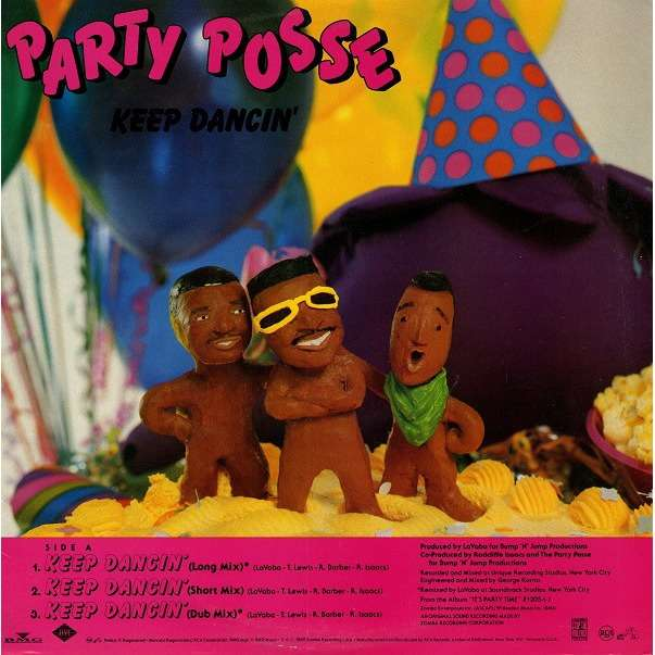 Party Posse Keep Dancin' / Strivin' (promo)
