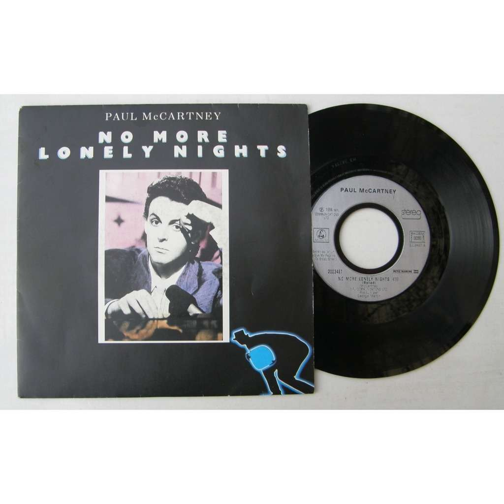 PAUL McCARTNEY NO MORE LONELY NIGHTS