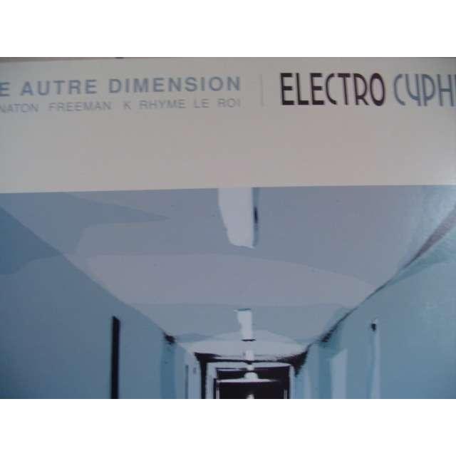 ELECTRO CYPHER / AKHENATON FREEMAN Une autre dimension