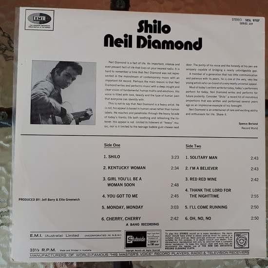Neil Diamond Shilo