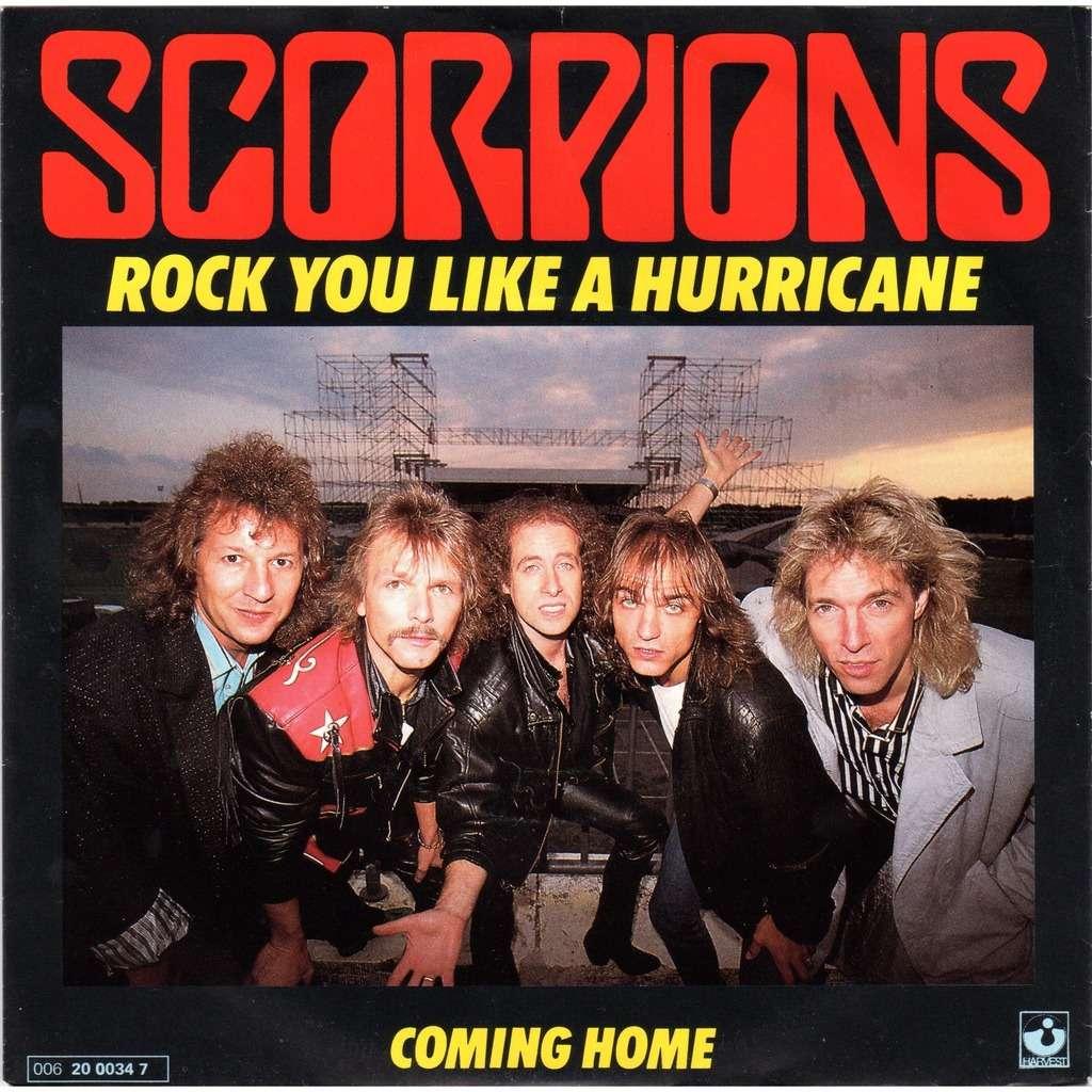 Scorpions rock you like a hurricane / coming home
