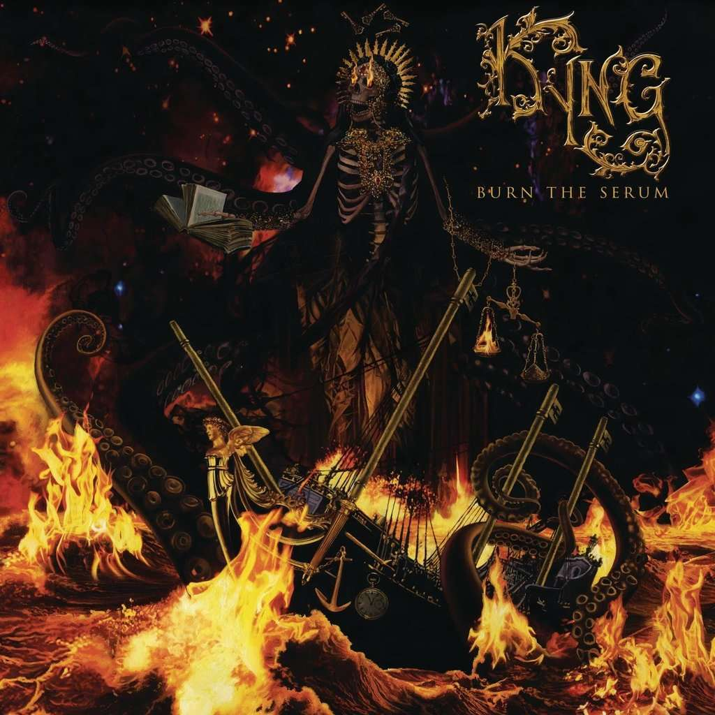Kyng Burn The Serum (cd)