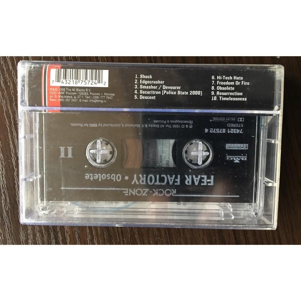 Fear Factory, cassette Obsolete, (sealed)