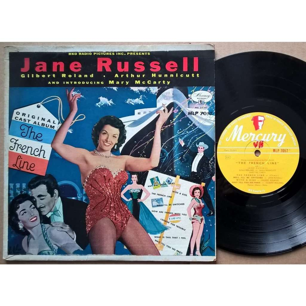 jane russell the french line