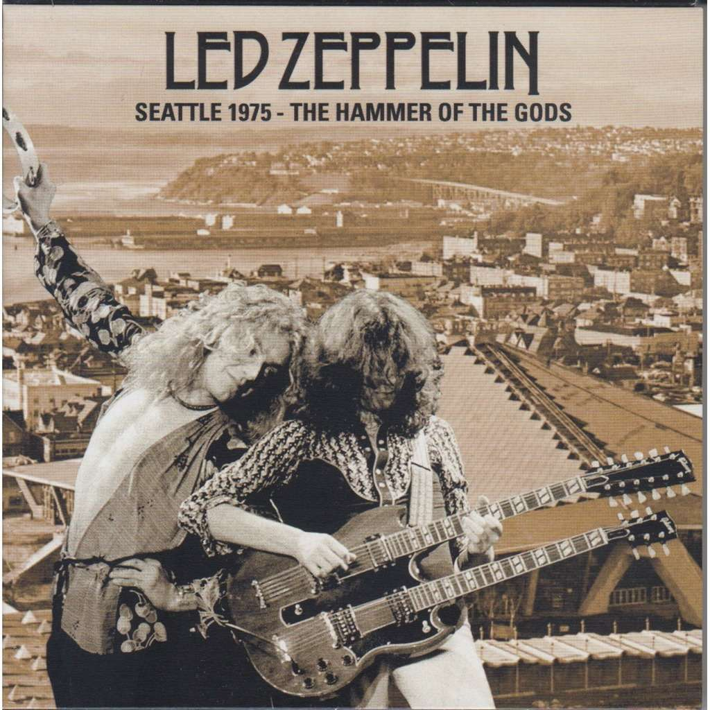 Seattle 1975 the hammer of the gods led zeppelin cd4 led zeppelin seattle 1975 the hammer of the gods voltagebd Choice Image