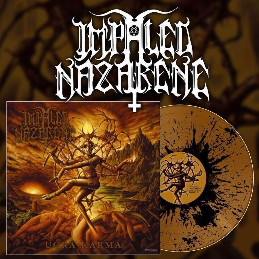 IMPALED NAZARENE Ugra Karma. Splatter Vinyl