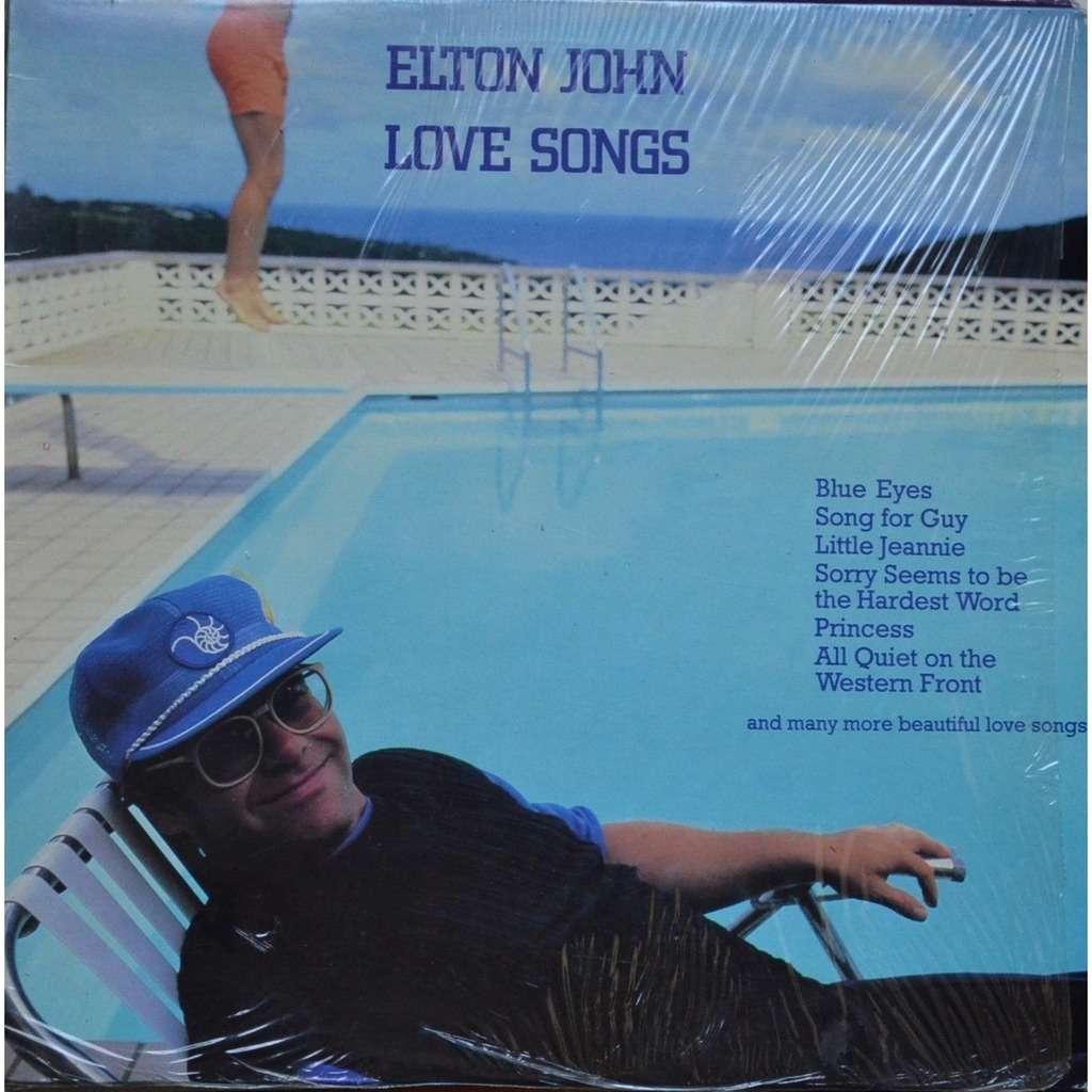 Elton John Love Songs