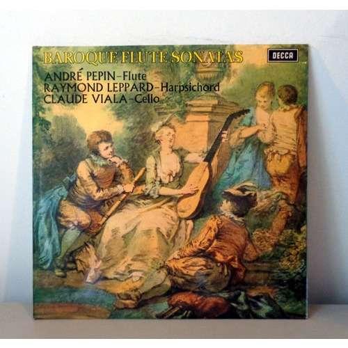 ANDRE PEPIN & RAYMOND LEPPARD & CLAUDE VIALA LOEILLET BLAVET TELEMANN Baroque flute sonatas