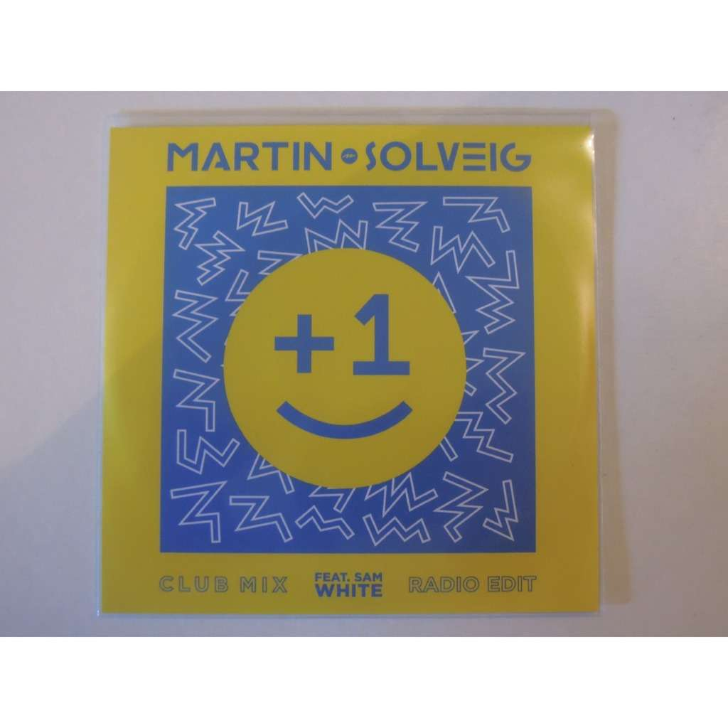1 Plus 1 Promo 2 Tracks By Martin Solveig Feat Sam White Mcd With Pitouille Ref 119001905