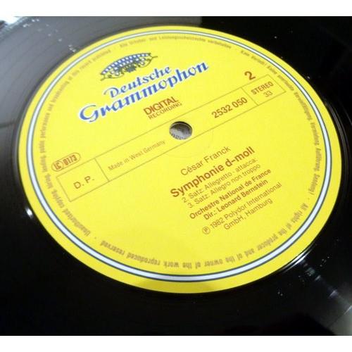LEONARD BERNSTEIN & ORCHESTRE DE FRANCE FRANCK Symphonie in d SAINT SAENS Le rouet d'Omphale