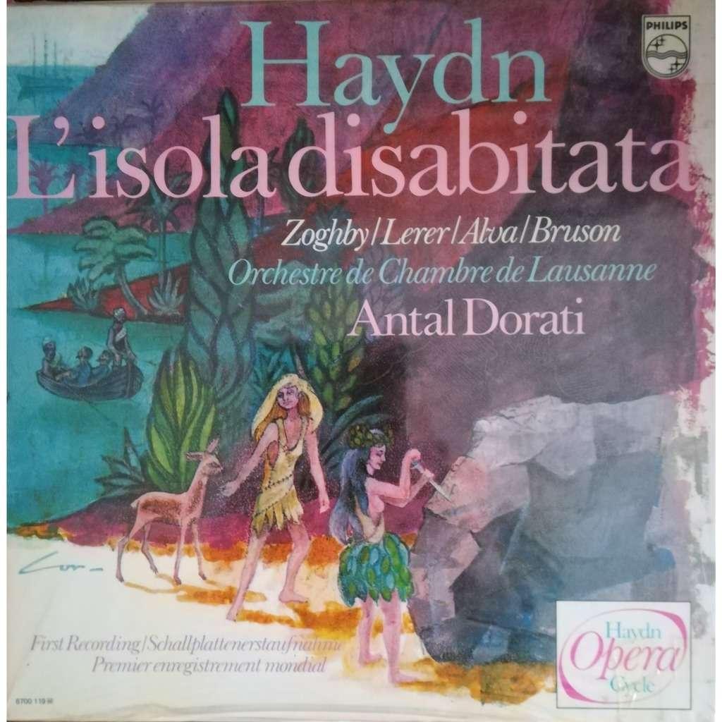 joseph haydn L'isola disabitata (L'ile déserte)