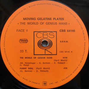 MOVING GELATINE PLATES The world of genius Hans (very rare original French press - 1972 - Nice copy)
