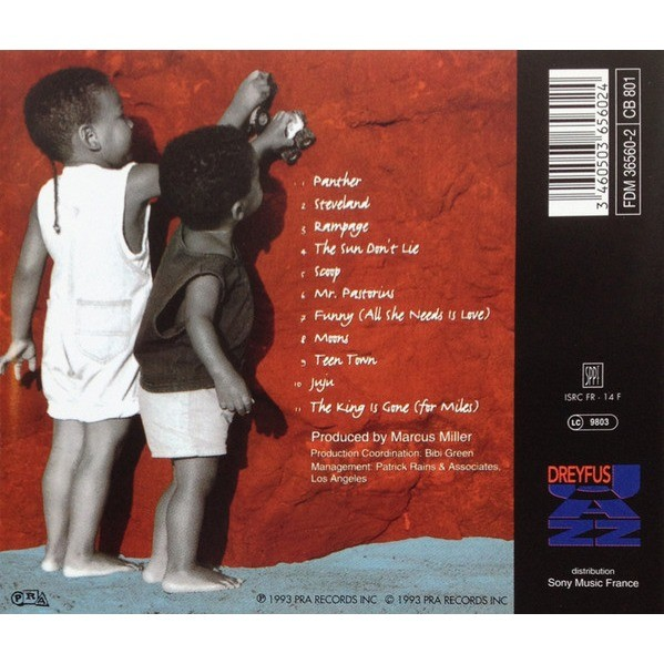 Marcus Miller The Sun Don't Lie