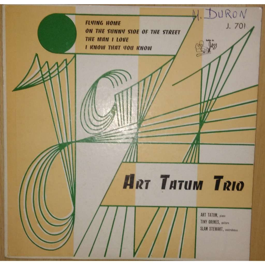 art tatum trio flying home