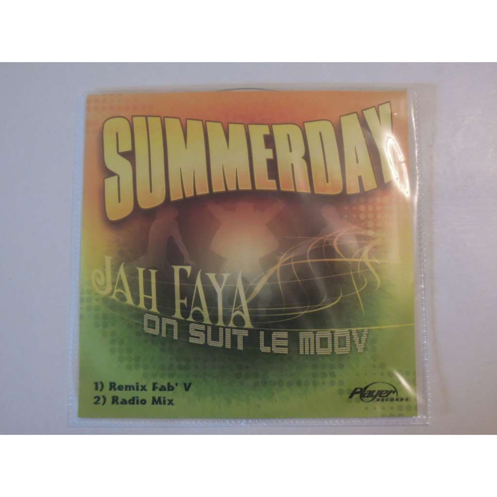 summerday feat jah faya on suit le moov promo 2 tracks