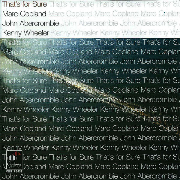 Marc Copland / John Abercrombie / Kenny Wheeler That's For Sure
