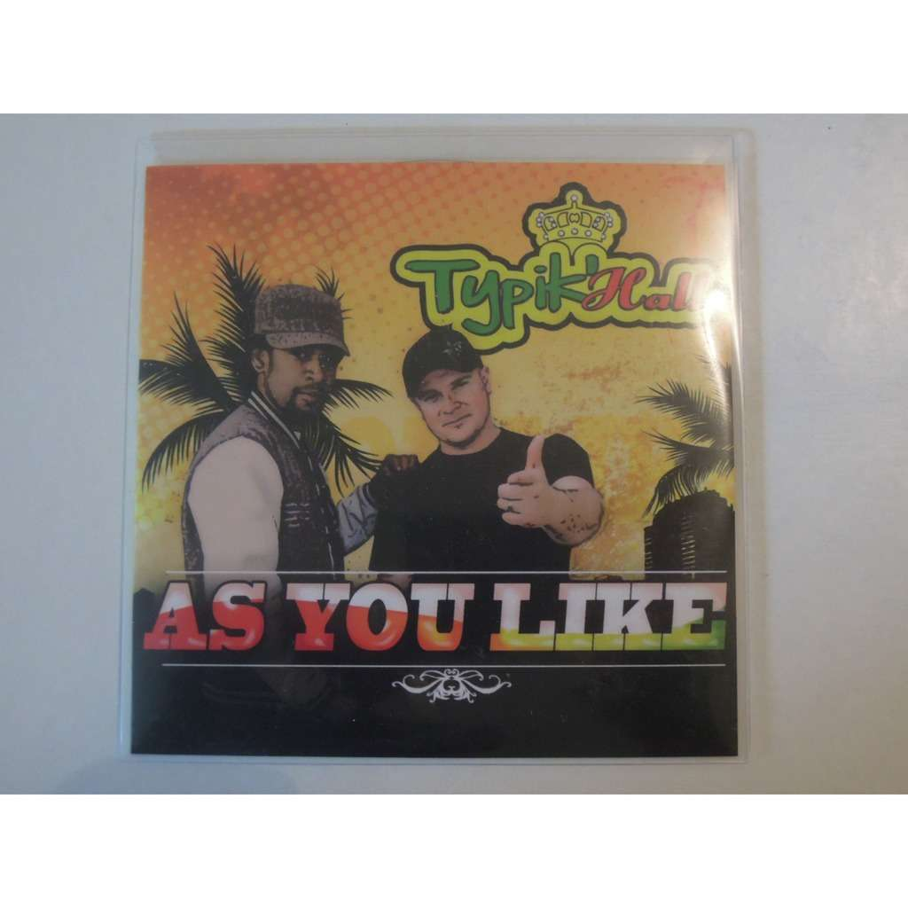 typik hall as you like promo 2 tracks