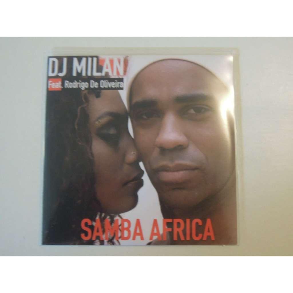 dj milan feat rodrigo de oliveira samba africa promo 7 tracks