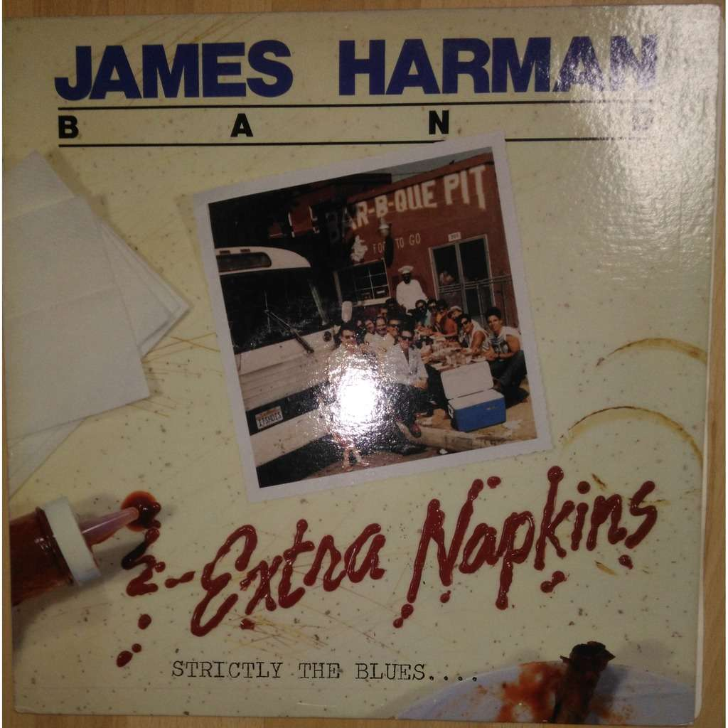 james harman band extra napkins