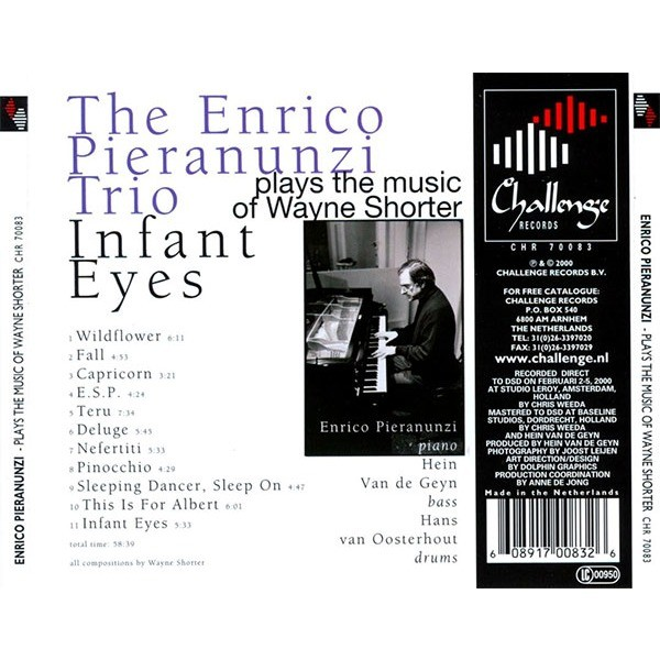 Enrico Pieranunzi Trio Infant Eyes ( Music Of Wayne Shorter )