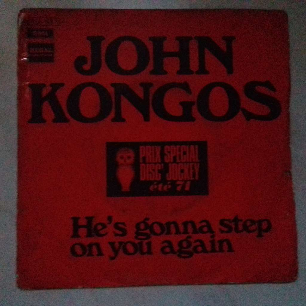 john kongos he's gonna step on you again