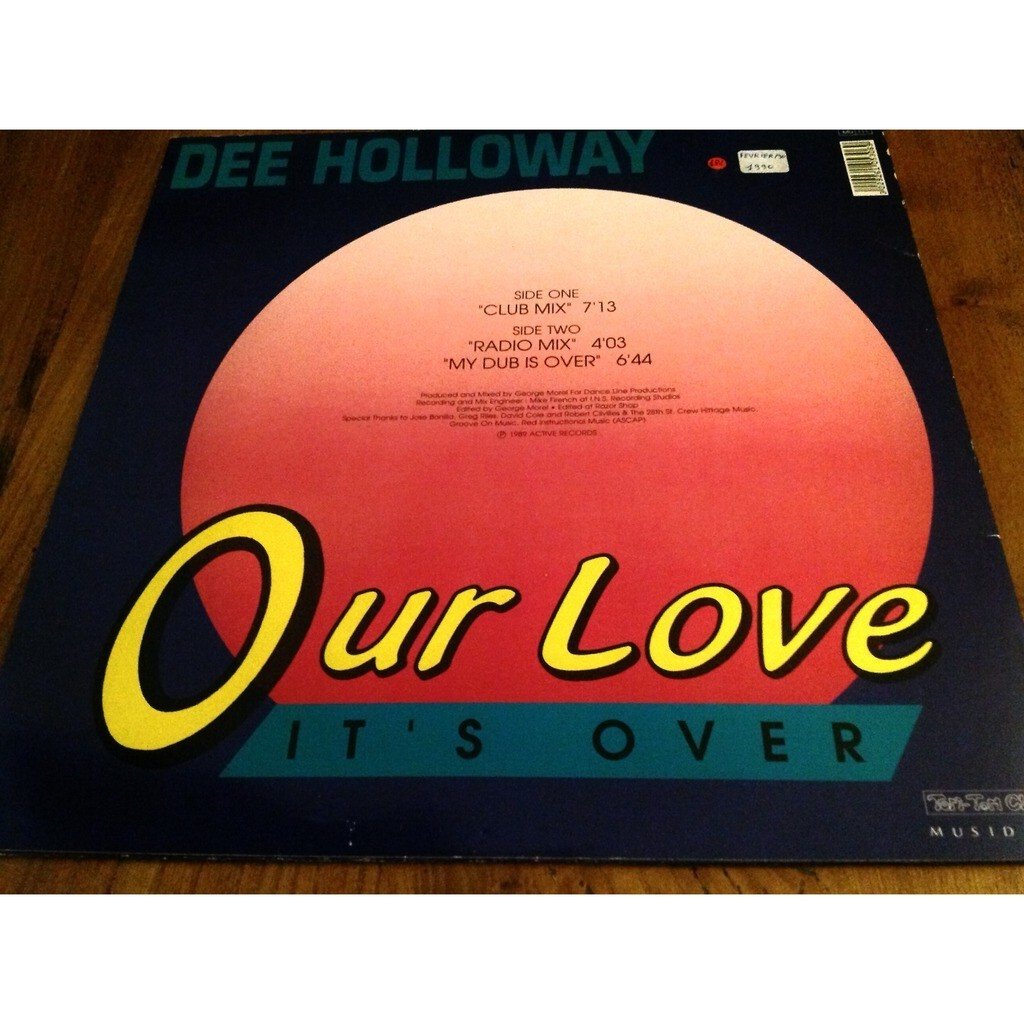 dee holloway Our love it's over