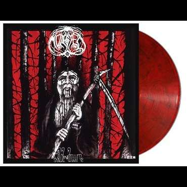 MOLESTED Blod Draum. Red Smoke Vinyl