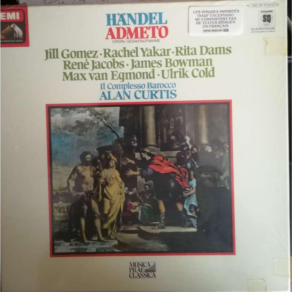 Gomez, Yakar, Dams, Jacobs, Alan Curtis HANDEL: ADMETO - ( 5 lp set box stéréo quadro )