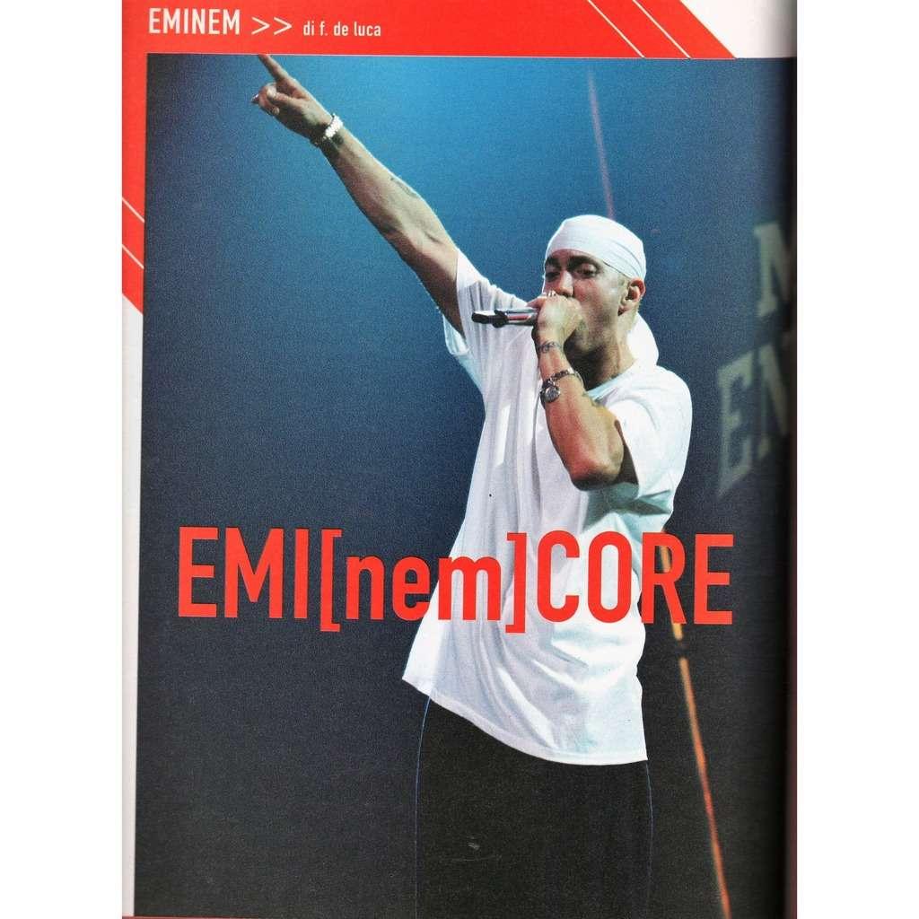 Eminem Rumore (N.131 Dec. 2002) (Italian 2002 music magazine!!)
