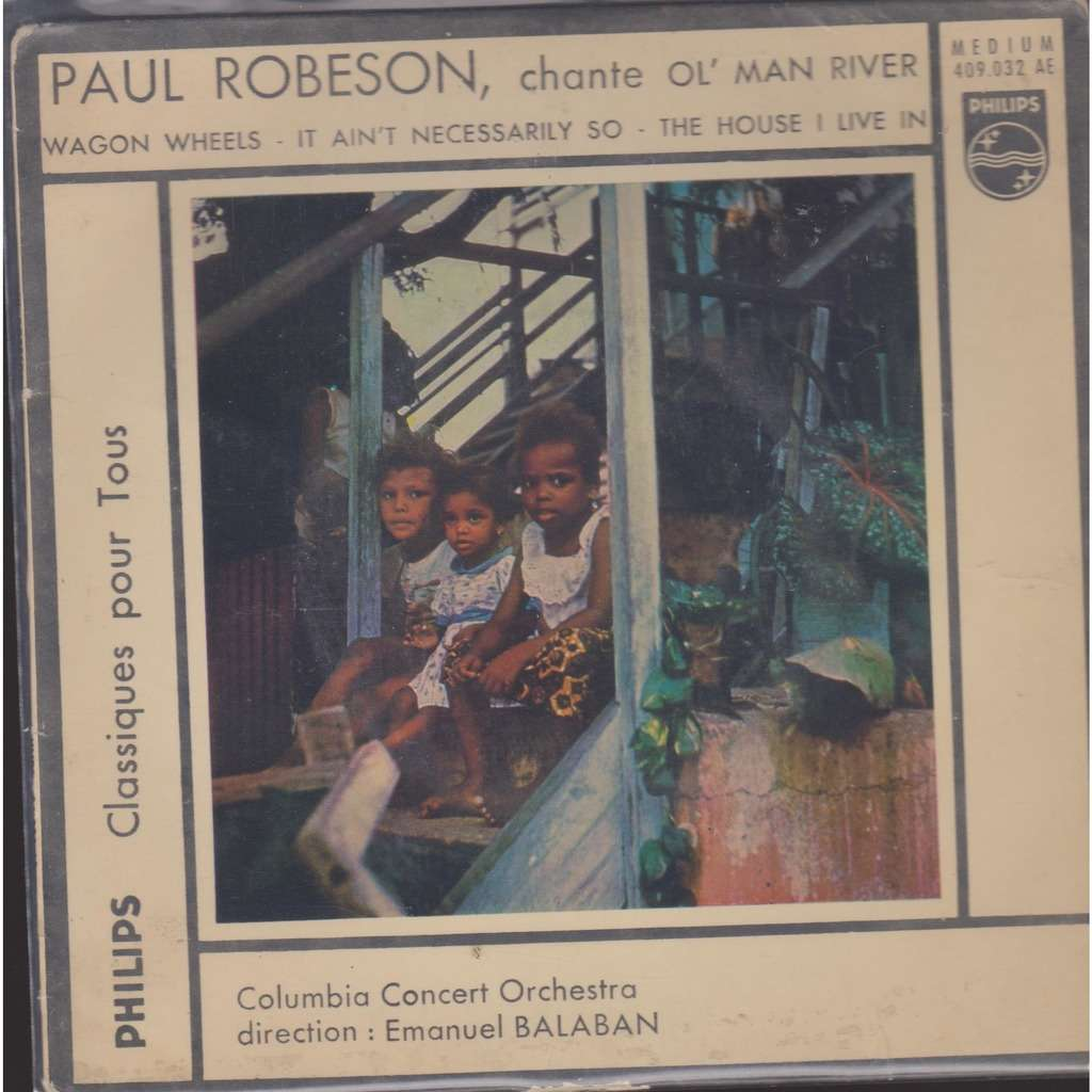 paul robeson ol' man river