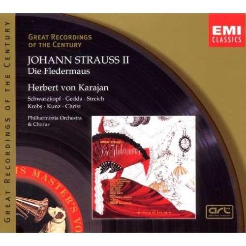 Strauss, Johann Il Die Fledermaus / Herbert von Karajan