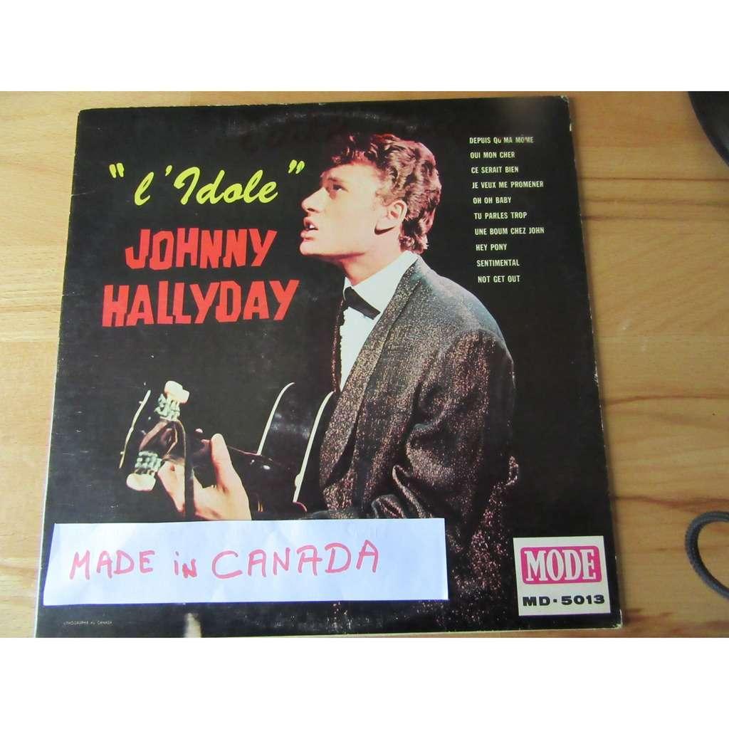 JOHNNY HALLYDAY L IDOLE