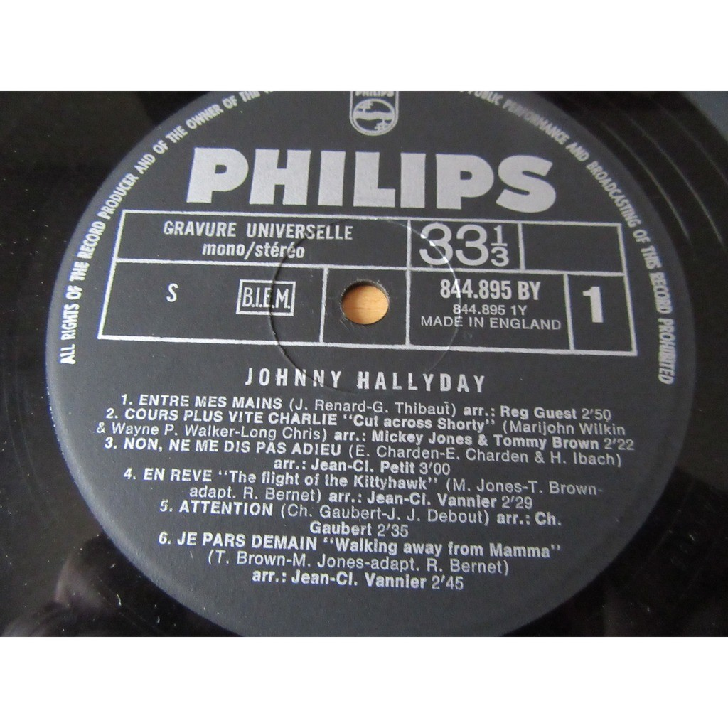 johnny hallyday REVE et AMOUR