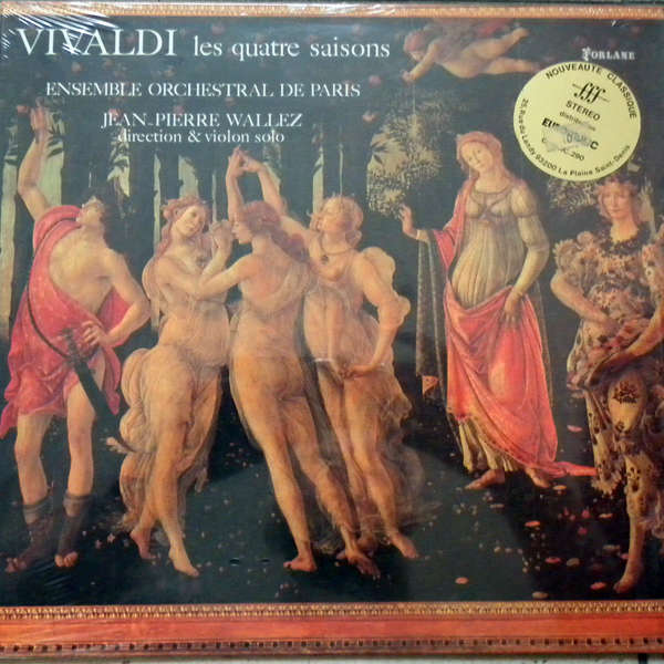 Jean-Pierre Wallez Vivaldi : Les quatre saisons