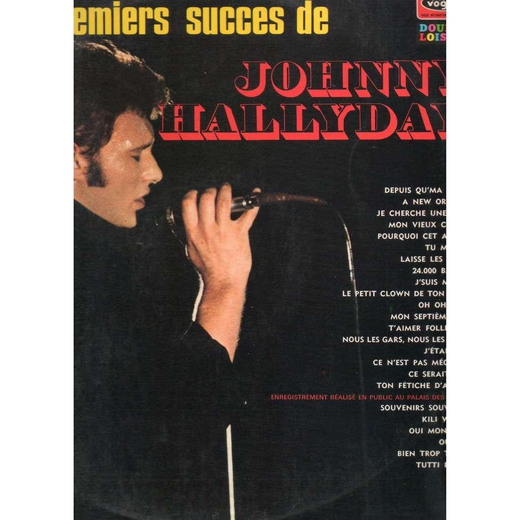 Johnny HALLYDAY Les 24 Premiers Succès de Johnny Hallyday