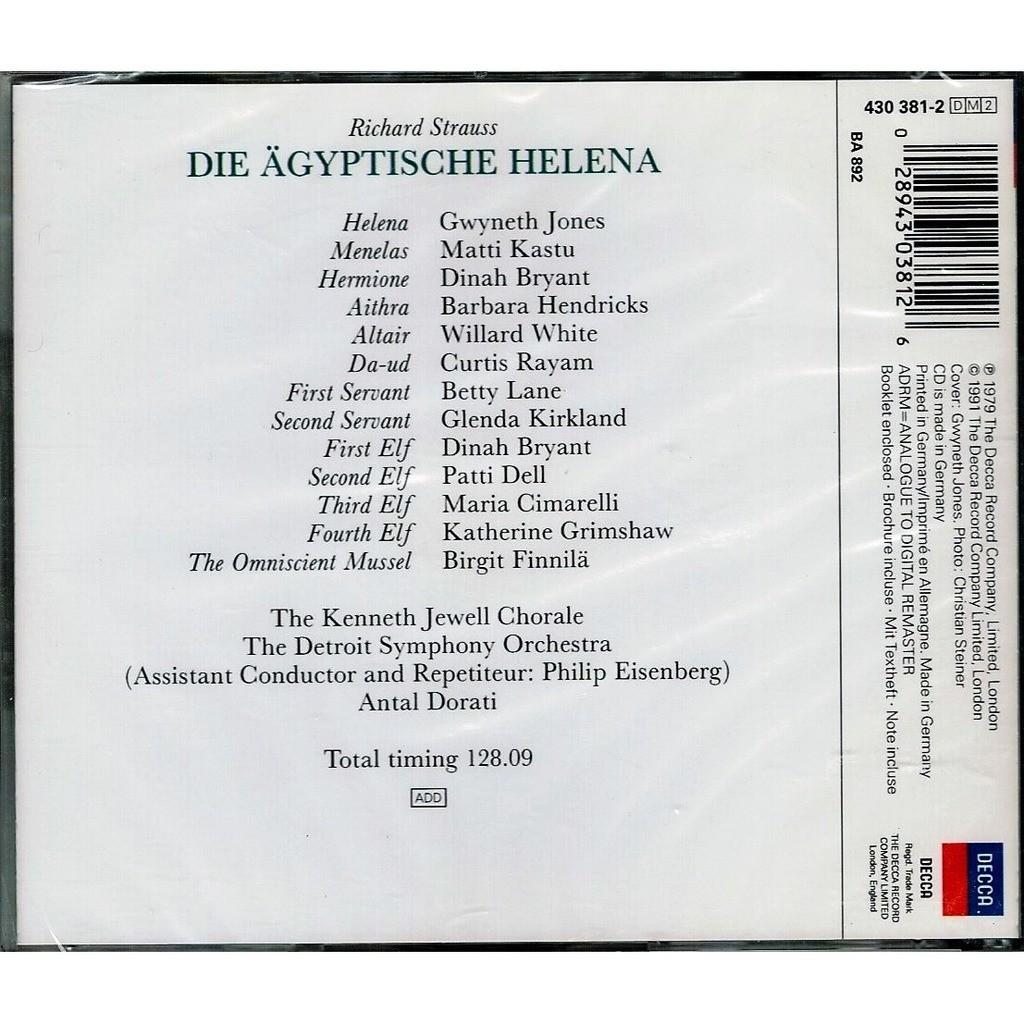 Strauss, Richard Die Ägyptische Helena / Antal Doráti