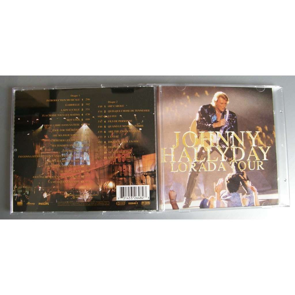 JOHNNY HALLYDAY LORADA TOUR