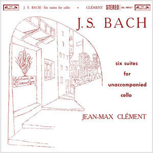 Bach Six Suites For Unaccompanied Cello BWV1007-12 : Jean-Max Clement - 180g 2LP
